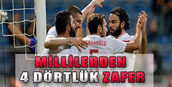 Türkiye: 4 - Bulgaristan: 0
