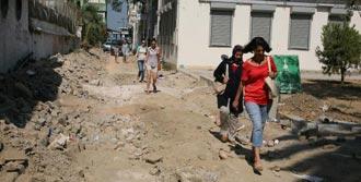 İzmir'in Göbeği Şantiye Haline Geldi