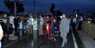 Kamyonet Kaza Yaptı: 7 Yaralı