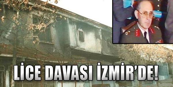 Lice Davası İzmir'de