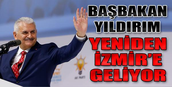 Yıldırım Yeniden İzmir'e Geliyor