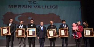 Mersin'de Devlet Övünç Madalyası