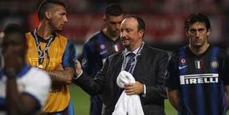 Benitez ve Materazzi Kapıştı!
