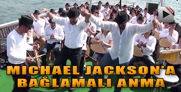 Michael Jackson'a 'Bağlama'lı Anma