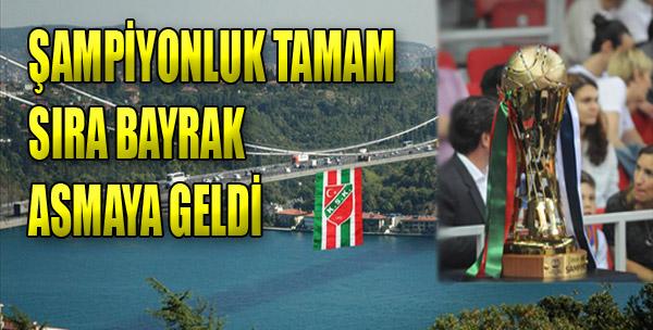 Köprüye Bayrak Asılacak