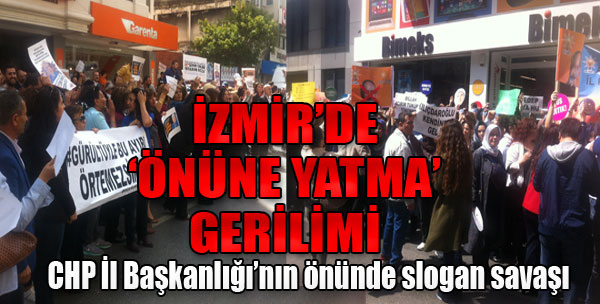 AK Partililer, CHP Binasına Yürüdü