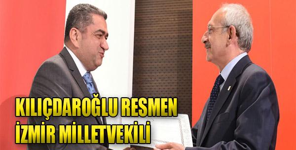 Kılıçdaroğlu Resmen İzmir Vekili Oldu