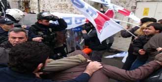 Eylemcilere Polis Müdahalesi!