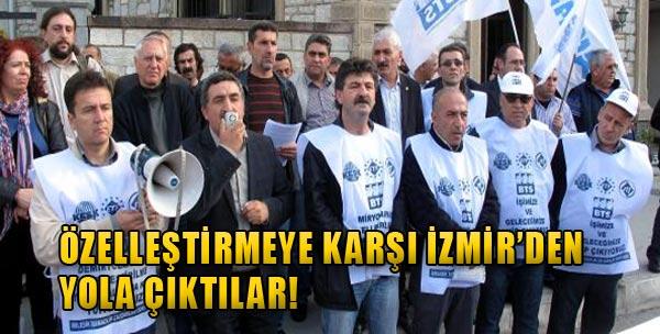Alsancak'tan Ankara Yürüyüşü!