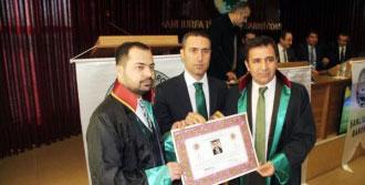 Şanlıurfa'da Stajyer Avukatlar Cübbelerini Giydi