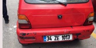Trafik Cezası Yazılınca Otomobilin Camlarını Kırdı