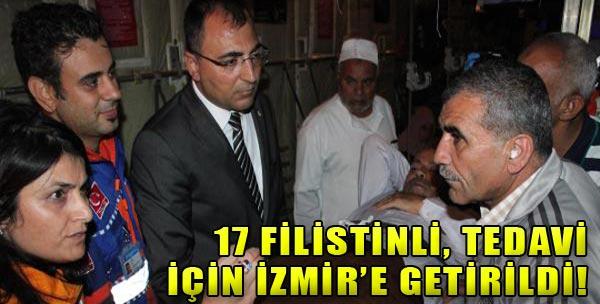 Filistinliler İzmir'e Getirildi!