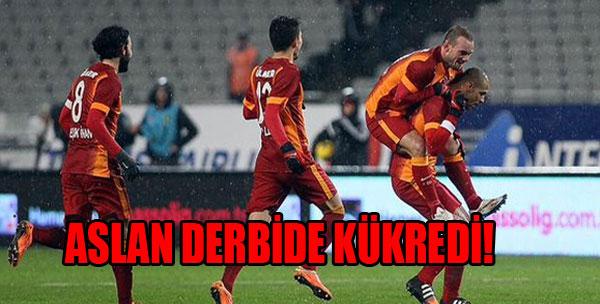 Derbide Gülen Galatasaray Oldu