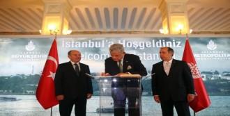 Ab Bakanı Bozkır'dan Kadir Topbaş'a Ziyaret