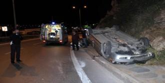 Kaza Geçirip Yaralandı