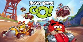 'Angry Birds Go' Yolda