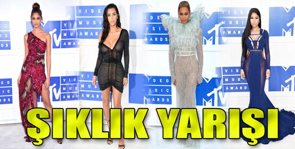 MTV Video Müzik Ödülleri'nde Şıklık Yarışı