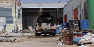 Adana'da Akaryakıt Tankeri Patladı