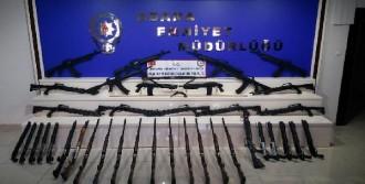 Adana'da Silah Kaçakçılarına Operasyon