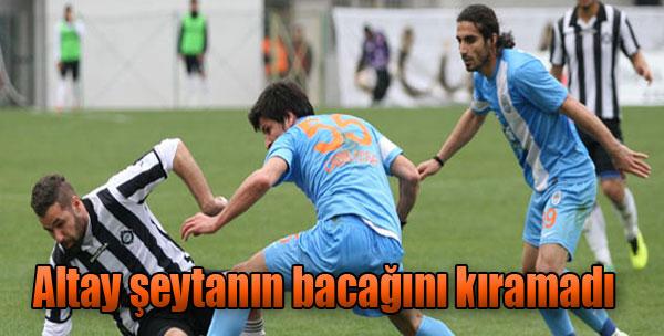 Altay 0-0 Pazarspor