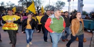 Adıyaman Ve Gaziantep'te Eğitimciler, Öğretmen Öz İçin Yürüdü