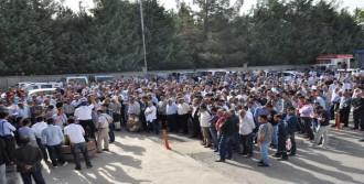 TPAO İşçileri Eylem Yaptı