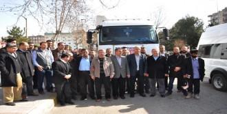 Adıyaman'dan Suriye'ye 3 TIR'lık Yardım