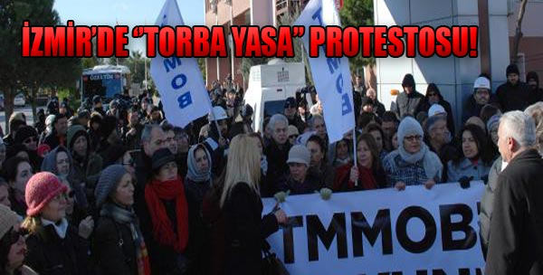 TMMOB'den 'Torba Yasa' Protestosu
