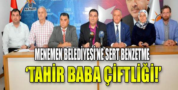 AK Parti'den Menemen Raporu
