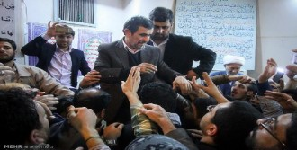Ahmedinejad'a Taziyede Büyük İlgi