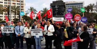 AK Partili Kadınlardan Kınama