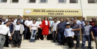 Babasının Adını Taşıyan Okula Ziyaret