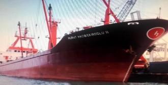 Alanya'da Kuru Yük Gemisi Battı