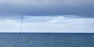 Alanya'da Denizde İki Hortum