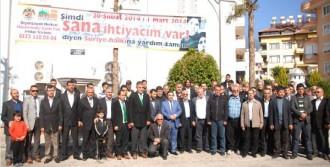 Alanya'dan Suriye'ye Yardım Kampanyası