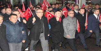 Alaşehir'de Teröre Lanet Yürüyüşü