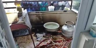 Alev Alan Mutfak Tüpü, Yangına Neden Oldu