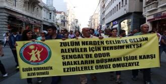Alevilerden IŞİD Protestosu