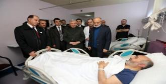 Müftü, Şehit Cenazesinde Kaza Geçirdi