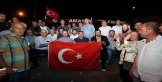 Amasya'da Şükür Kurbanı Kesildi