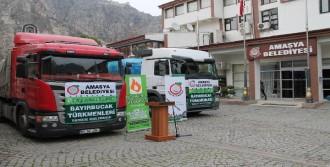 Amasya'dan Bayırbucak Türkmenlerine  Yardım