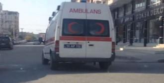 Ambulansla Kaçak Sigara Sevkiyatı