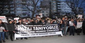 Ankara Saldırısı Eskişehir'de Protesto Edildi