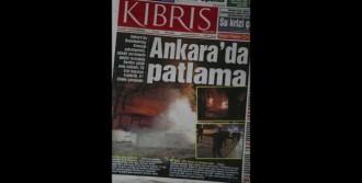 Ankara'daki Hain Saldırı KKTC Basınında