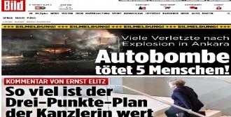 Ankara'daki Patlama Alman Basınında