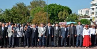 Antalya İl Milli Eğitim'de Başörtülü İki Yardımcı