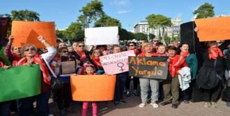 Antalya'da Gergin Protesto