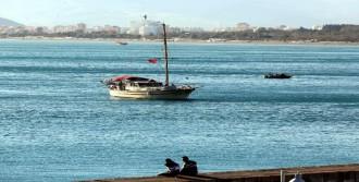 Antalya'da Kuzey Rüzgarı Üşüttü