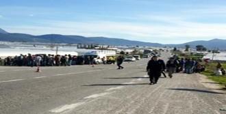 Antalya'da Motosikletin Çarptığı Manav Öldü