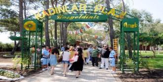 Antalya'ya 2'nci Kadınlar Plajı